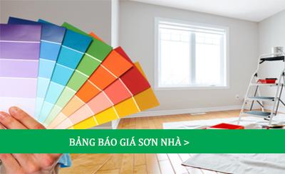 Báo giá sơn nhà giá rẻ