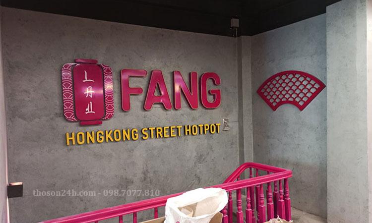 Công trình chuỗi nhà hàng phong cách Hong Kong