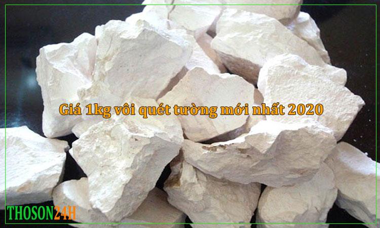 Giá 1kg vôi quét tường